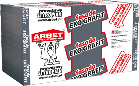 Arbet Styropian FASADA EKO GRAFIT 0,033 27m