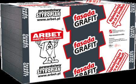 Arbet Styropian FASADA GRAFIT 0,031 17cm