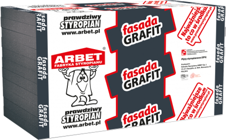 Arbet Styropian FASADA GRAFIT 0,031 30cm