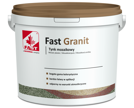 FAST GRANIT tynk mozaikowy NATURA 15kg