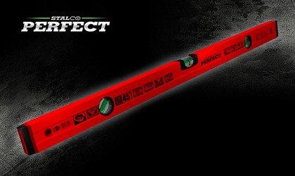 Stalco Poziomnica aluminiowa czerwona 45° 60cm